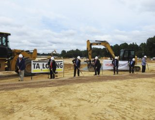 Dignitaries break ground for a new Johnston County Detention Center