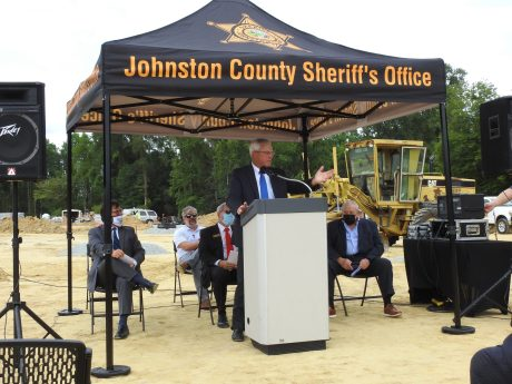 Johnston County Sheriff Steve Bizzell