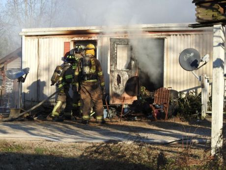 Fire - Mobile Home, NC 96 South, 12-28-20-1M