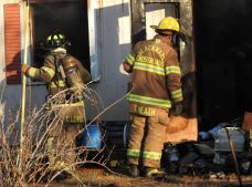 Fire - Mobile Home, NC 96 South, 12-28-20-5M