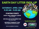 EARTH DAY LITTER PICK-UP