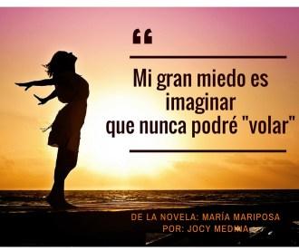 De la novela_ María mariposaPor_ Jocy Medina