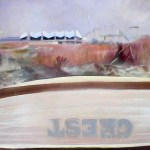 Sold / Crest Boat, Jodee Clifford, c. 2006, Oil on Canvas