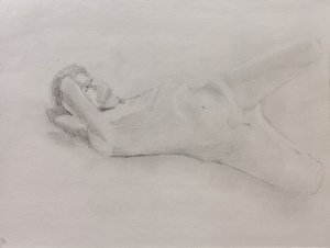 Life Drawing at the Art League - Robert