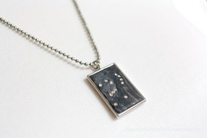 Shades of Gray Orion Necklace