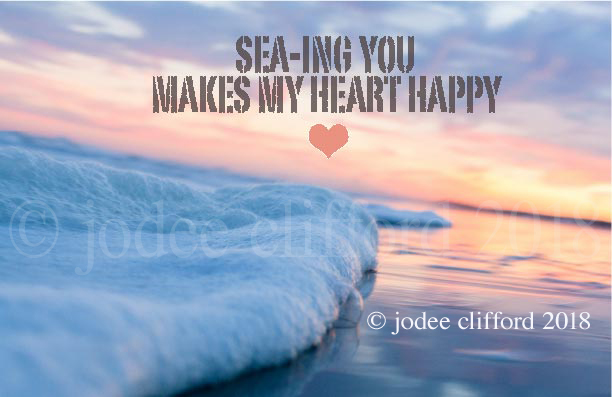 Sea-Ing You Makes My Heart Happy