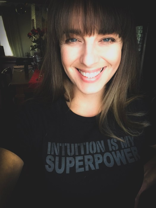 Intuition Is My Superpower t-shirt