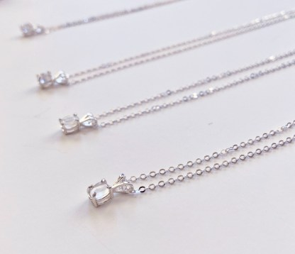 Cape May Diamond Necklaces