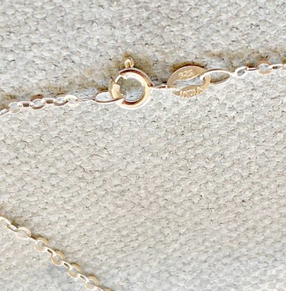 Cape May Diamond Necklace clasp
