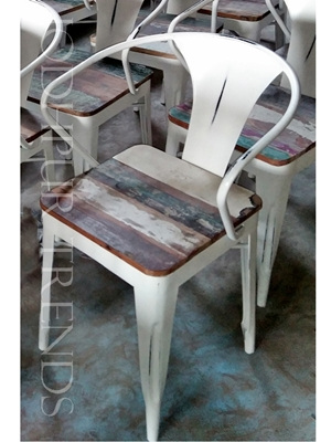 Rustic Cafe Chair | Lounge Furniture