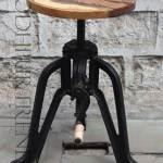Adjustable Bar Stool | Black Restaurant Chairs