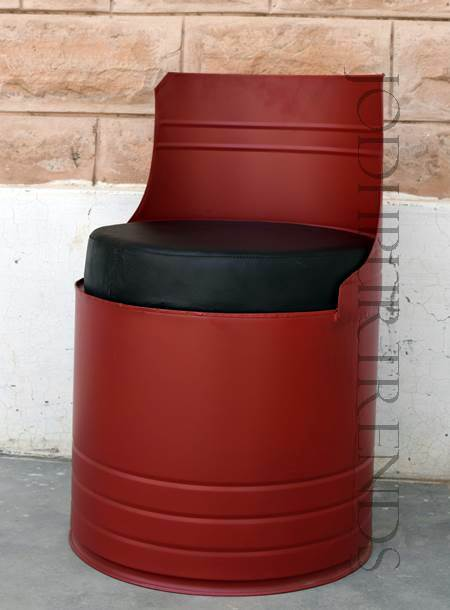 Cafe Chair in Barrel Drum Design | Cafe Restaurant Chairs