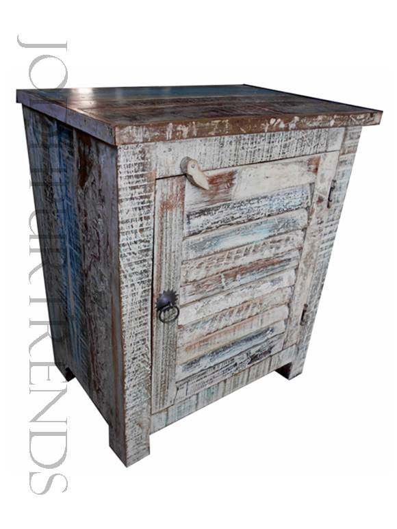 Boho Chic Bedside Table | Vintage Bedroom Furniture