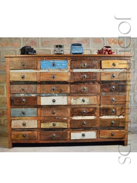 Hand Distressed Drawer Chest | Indian Furniture Wholesale