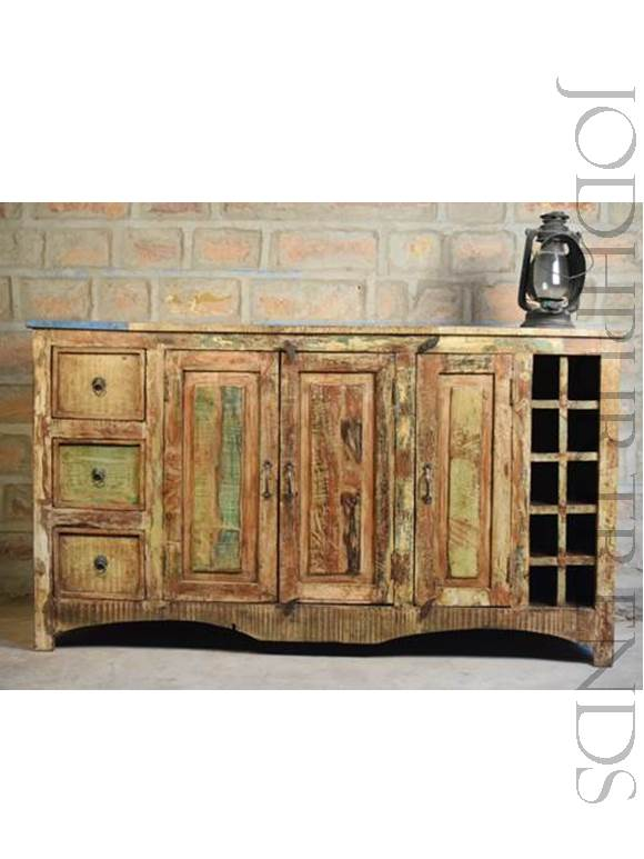 Hand Carved Sideboard | Hand Carved Furniture India