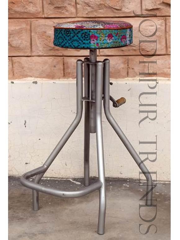 Industrial Bar Stool | Bespoke Furniture Design