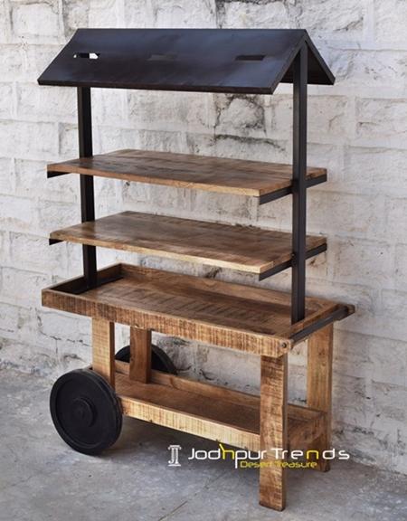Multilevel Cart | Jodhpur Furniture Manufacturer