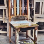 Dining Chair in Reclaimed Wood | Coffee Shop Furniture Wholesale