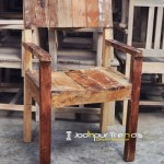 Reclaimed Wood Dining Chair   Cafe Furniture Design