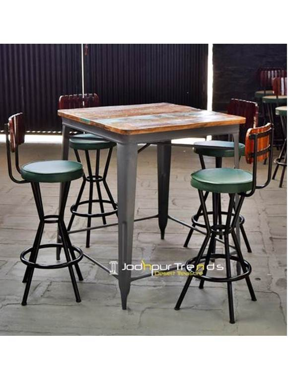 Counter Table Set Bar Table Set Restaurant Lounge Furniture