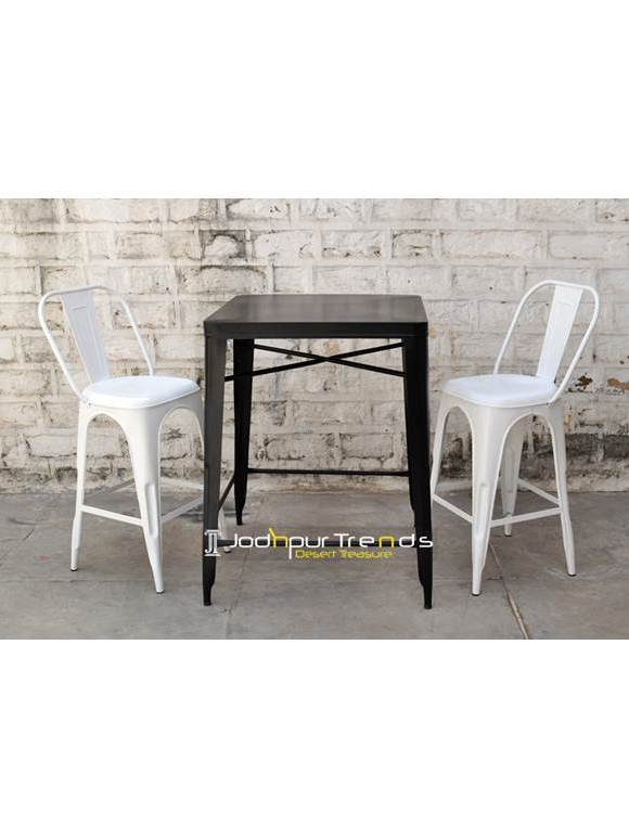 Garden Table Set, Iron Outdoor Table Set, India Furniture Wholesale