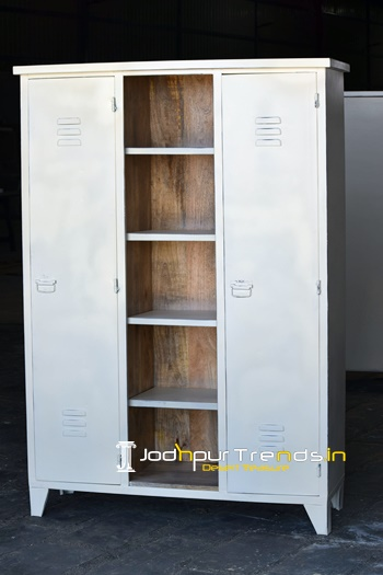 Metal Wood Wardrobe Wholesale Furniture Supplier