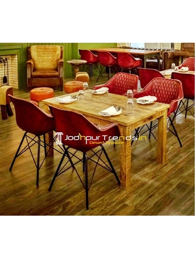Tub Chair Dining Set Furniture Manufacturers In India