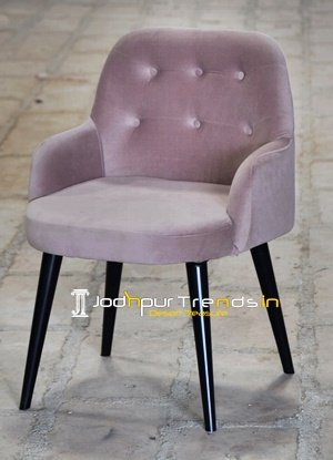 Tufted Iron Chair Hotel Restaurant Furniture Suppliers