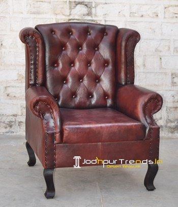 King Size Tufted Leather Sofa Wholesale Design