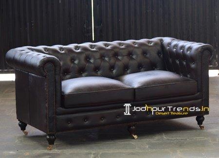 Genuine Leather Manufacturer Choice Leather Sofa