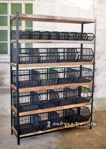 Multi Purpose Display Storage Unit for Commercial Use