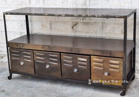 Modern Finish Metal Steel Console Furniture Factory