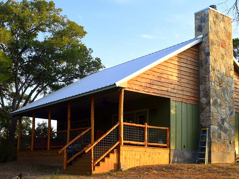 Log Cabin in Wimberley