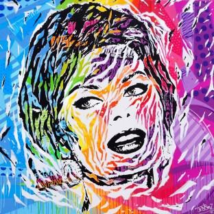 HAIGHT ASHBURY by Jo Di Bona 2016 150x150 technique mixte sur toile