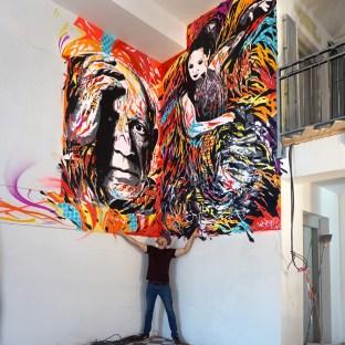 PICASSO OBERGE ESPANOLE by Jo Di Bona - Nîmes 2017