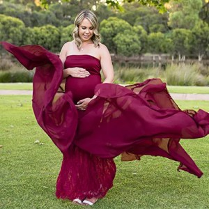 Fanciful Mama Gown