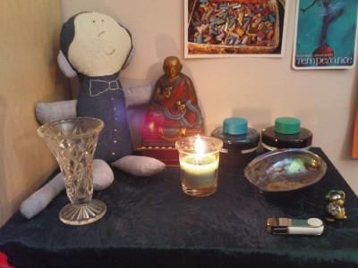 Writing Altar