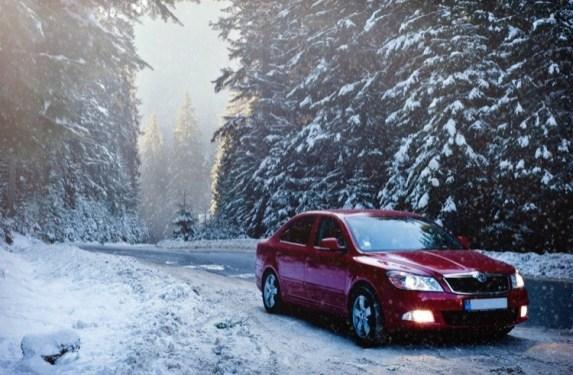 winter snow drive