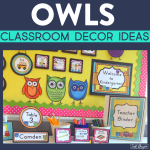 Owl Classroom Theme Ideas Jodi Durgin Education Co