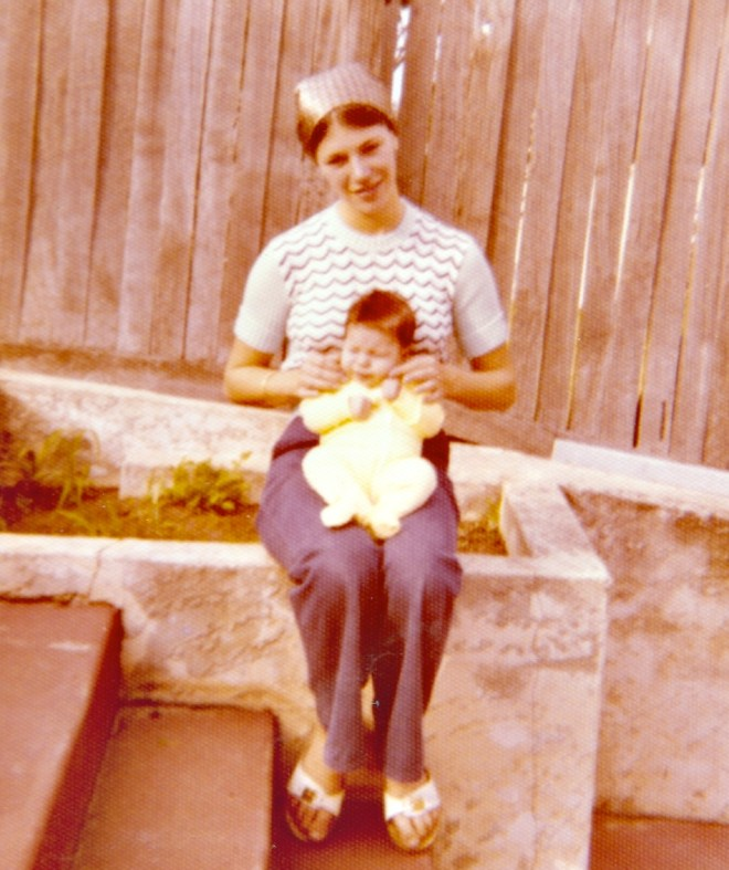 me and my mum (a little while ago!)