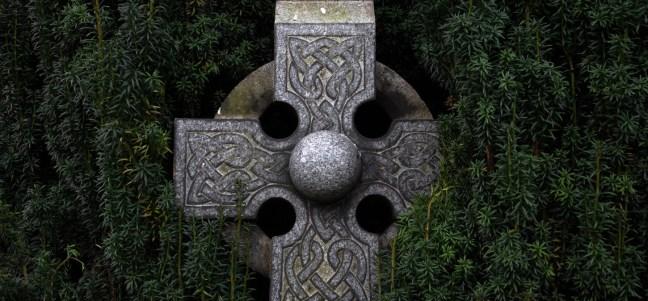 cross and rosemary