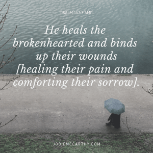 winter devotional, psalm 147:3, present with us, the healing father