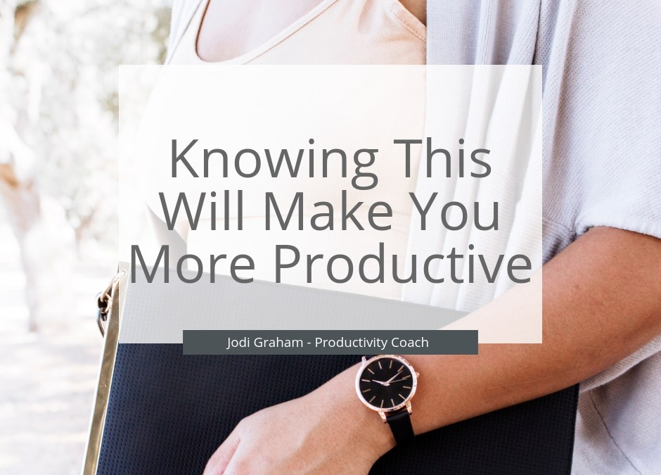Knowing This Will Make You More Productive