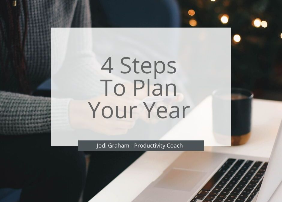 4 Steps To Plan Your Year