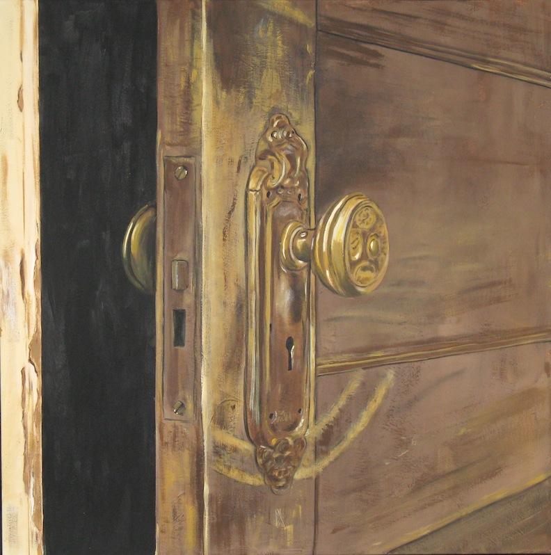 An open door....
