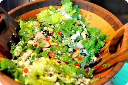 Honey Lime Salad
