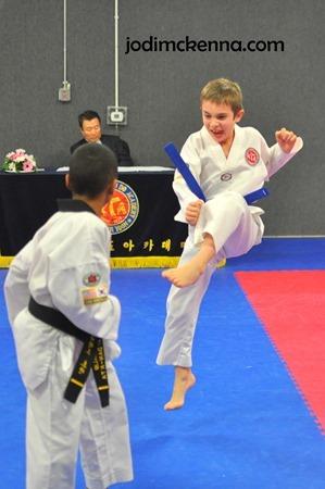 fourth grade taekwondo
