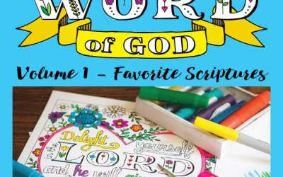 My New Christian Coloring Book for Adults is Now Available
