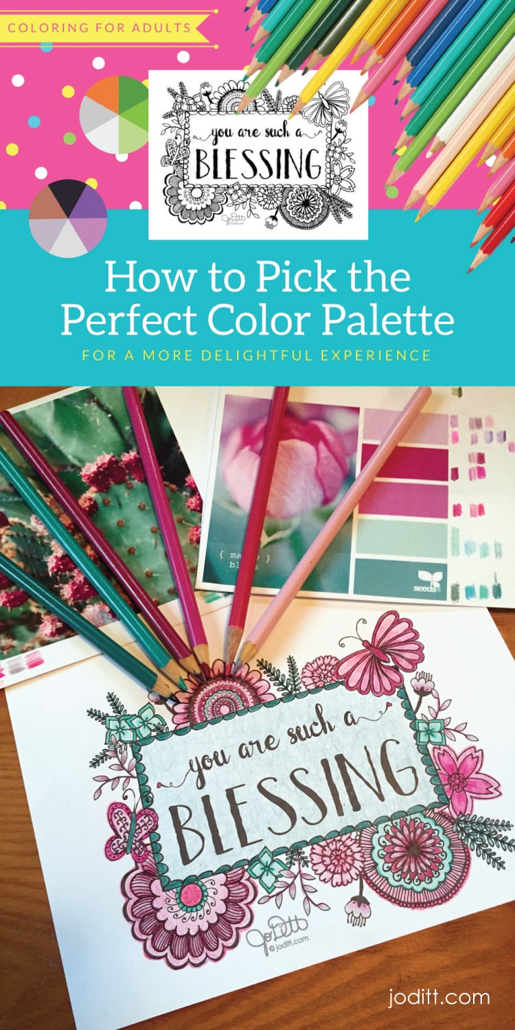 How to pick the perfect color palette