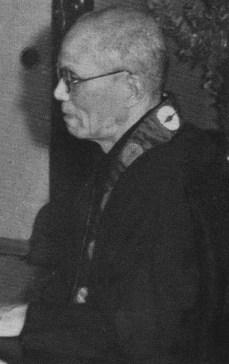 Le révérend Soga Ryōjin